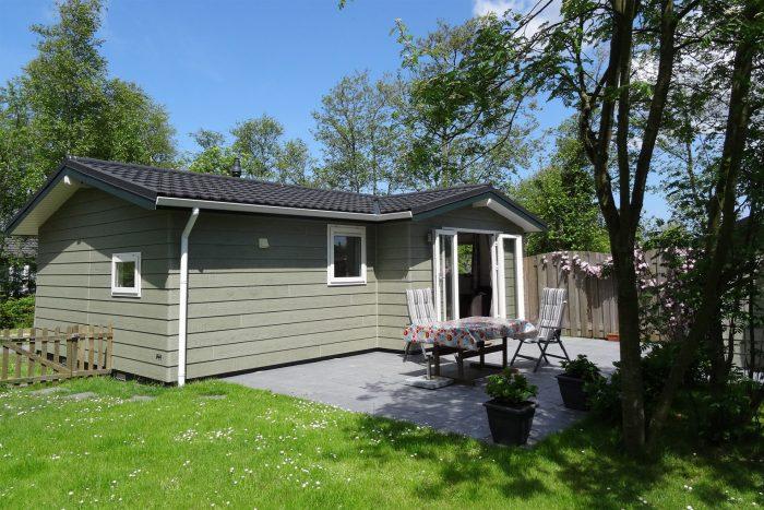 Vakantiehuisje Feldeblomke - Foto vanuit de tuin